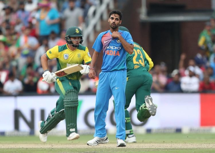 1st T20I: Bhuvneshwar claims five-for as India beat South Africa to take series lead