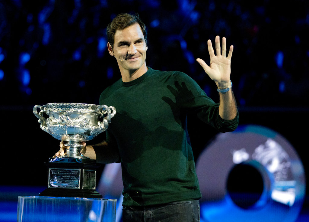 No.1 Roger Federer overpowers Grigor Dimitrov to win title in Rotterdam