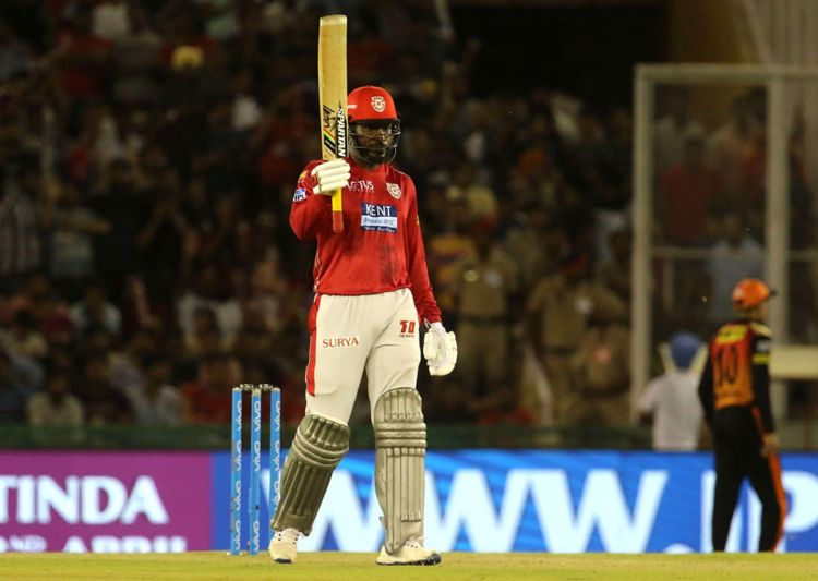 IPL 2018: Kings XI Punjab's Chris Gayle hits first century of the season