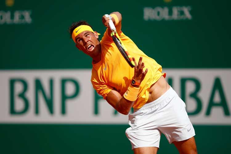 Rafael Nadal advances at Monte Carlo Masters; Novak Djokovic ousted