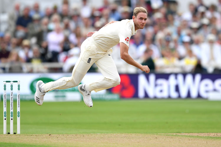 India vs England: Stuart Broad fined 15 percent for breaching ICC Code of Conduct
