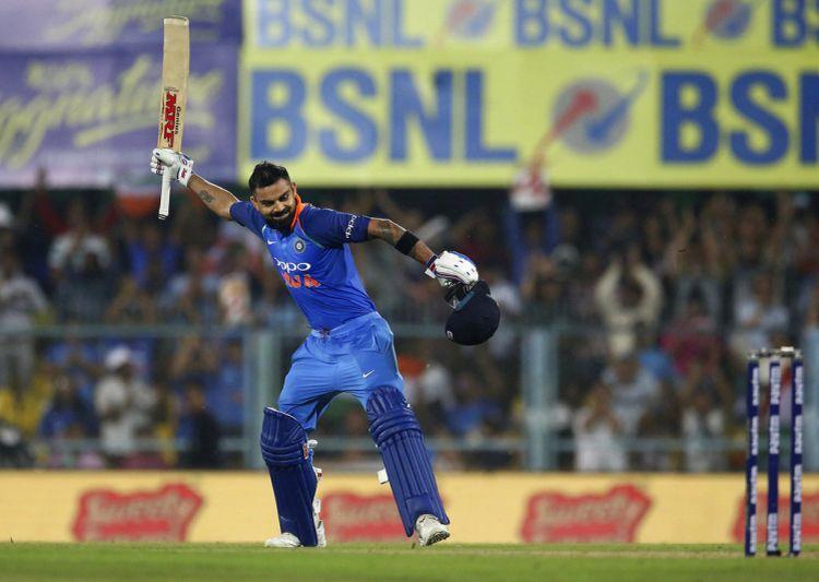 India vs West Indies, 1st ODI: Kohli fastest to score 60 international tons, breaks Tendulkar's record