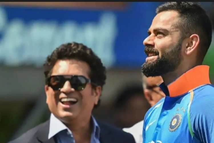 Comparison with Tendulkar 'embarrassing', lucky enough to play with him, says Kohli