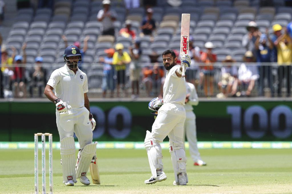 2nd Test: Khawaja anchors Australia to 132/4 on Day 3 after Kohli's 25th ton