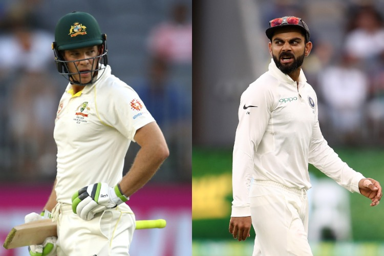Kohli, Paine exchange verbal blows as Perth Test heads for nail-biting finish