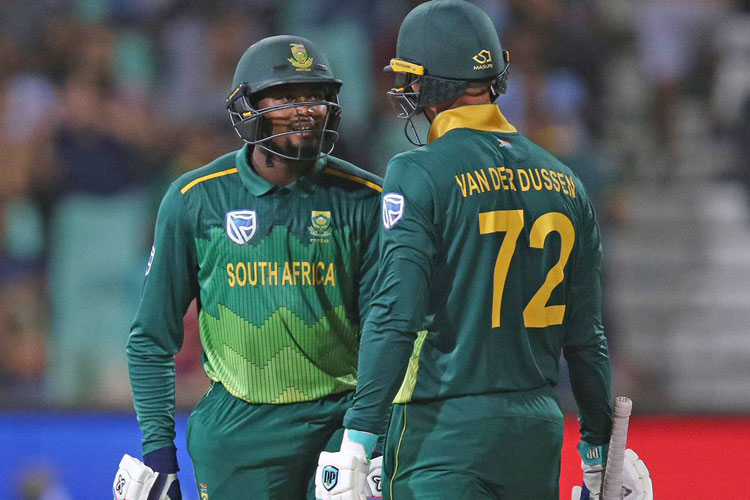 2nd ODI: Phehlukwayo, Van der Dussen star as South Africa level series vs Pakistan