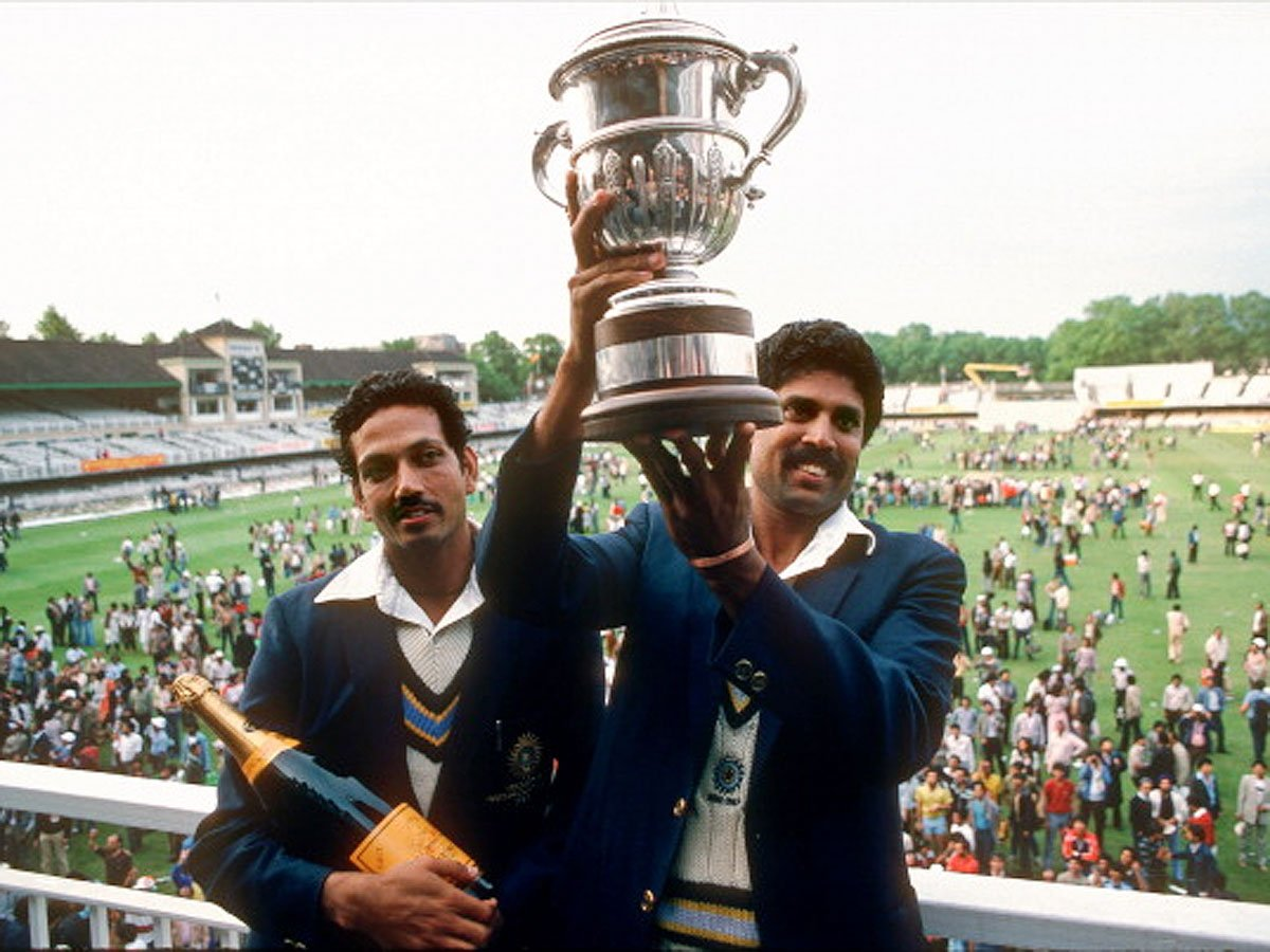 Champagne in the English summer of 83': Kapil's Devils become the toast of the nation