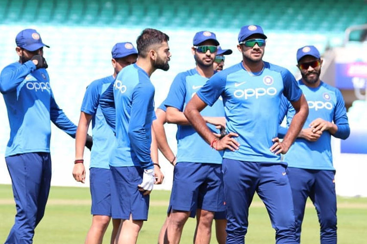 Virat Kohli and Team India train for the first time in England ahead of 2019 World Cup