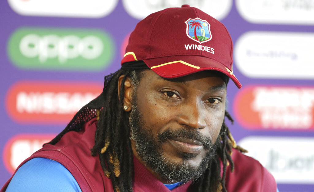 Chris Gayle to retire from international cricket after test series against India