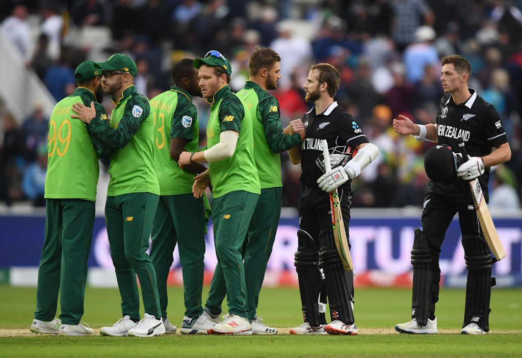 2019 World Cup: Williamson's ton guides New Zealand to thrilling 4-wicket win over South Africa