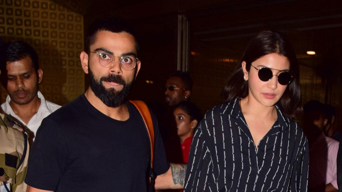 Virat Kohli returns to India with wife Anushka Sharma after World Cup heartbreak