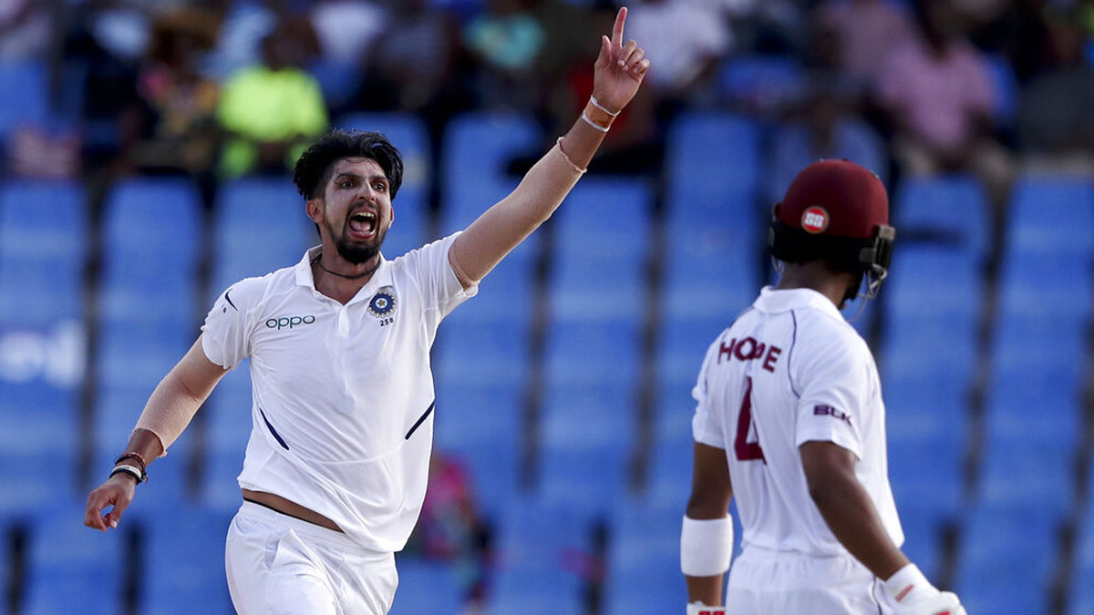 India vs West Indies, 1st Test: Ishant, Jadeja come to India's rescue as Windies put on backfoot on Day 2