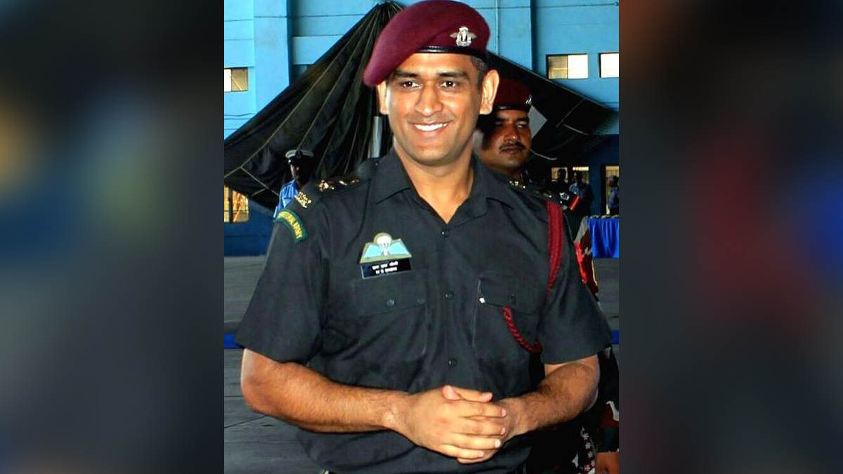 After returning from Kashmir, what is keeping MS Dhoni busy?