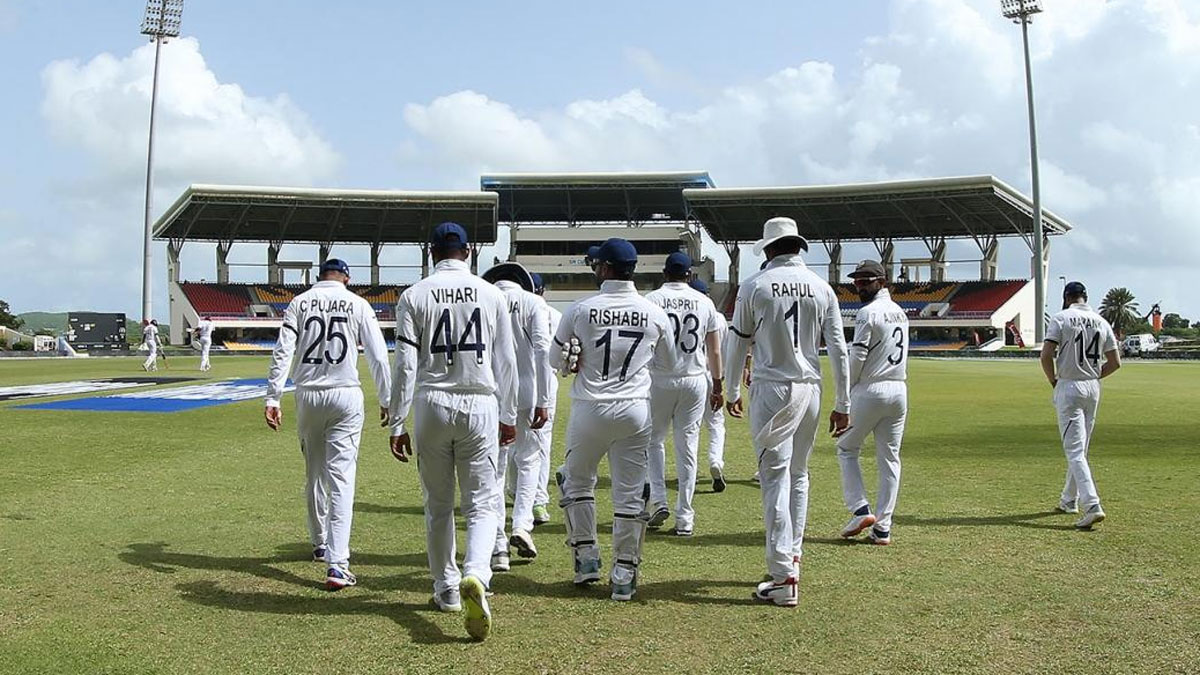 India vs West Indies: Indian players wear black armband in memory of Arun Jaitley