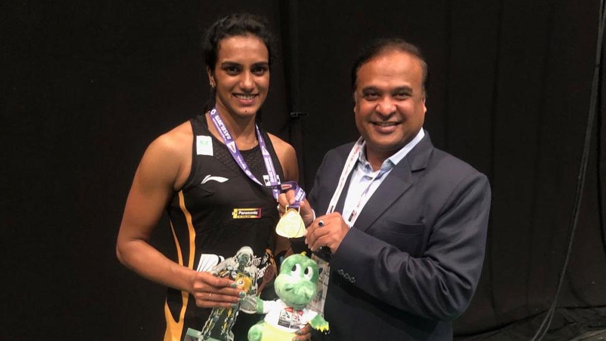 Badminton Association of India announces Rs 20 Lakh cash reward for World Champion PV Sindhu