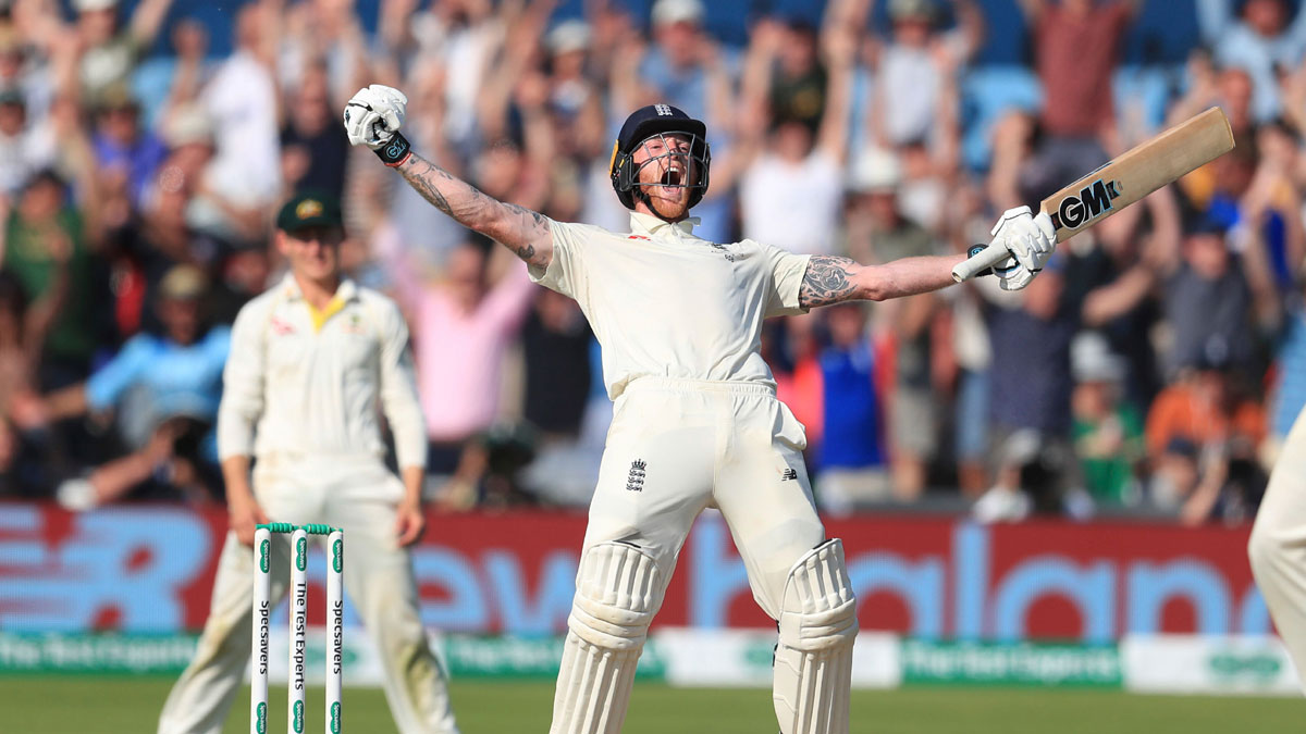 Ashes, 3rd Test: Ton-up Ben Stokes leads England to nail-biting 1-wicket win over Australia