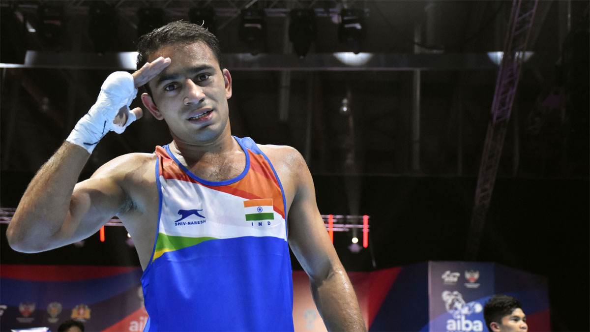 Have created history here, will do the same at Olympics: Amit Panghal