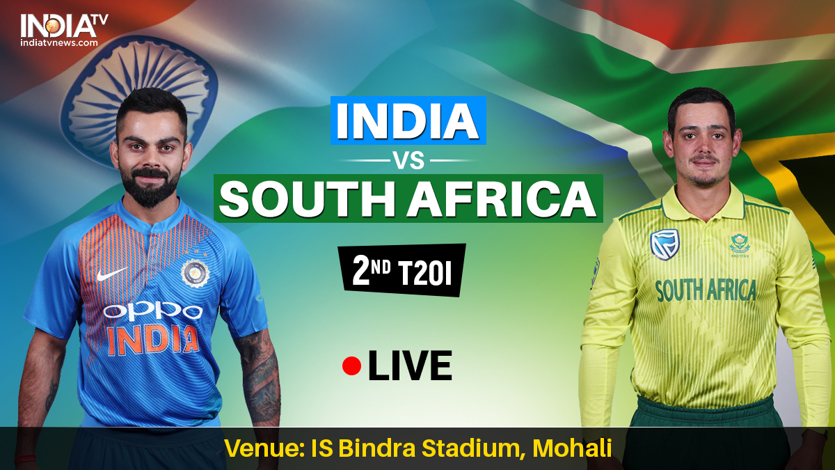 Live Cricket Streaming, IND vs SA 2nd T20I: Watch 2nd T20I live online