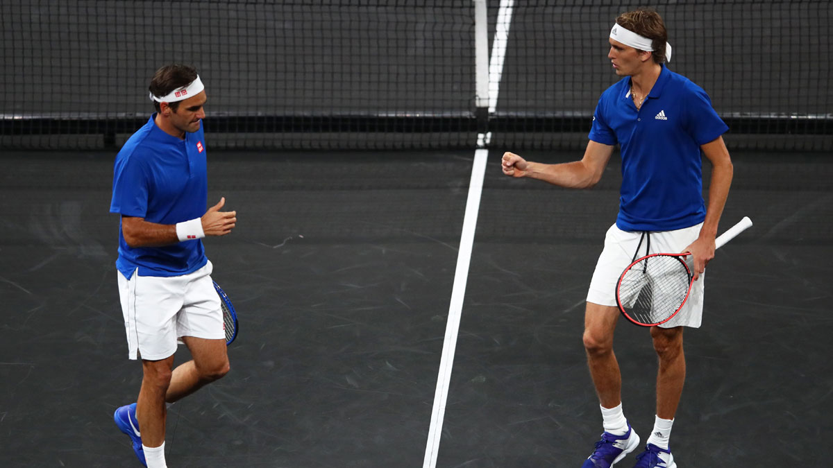 Laver Cup: Federer-Zverev gives Team Europe 3-1 lead over Team World