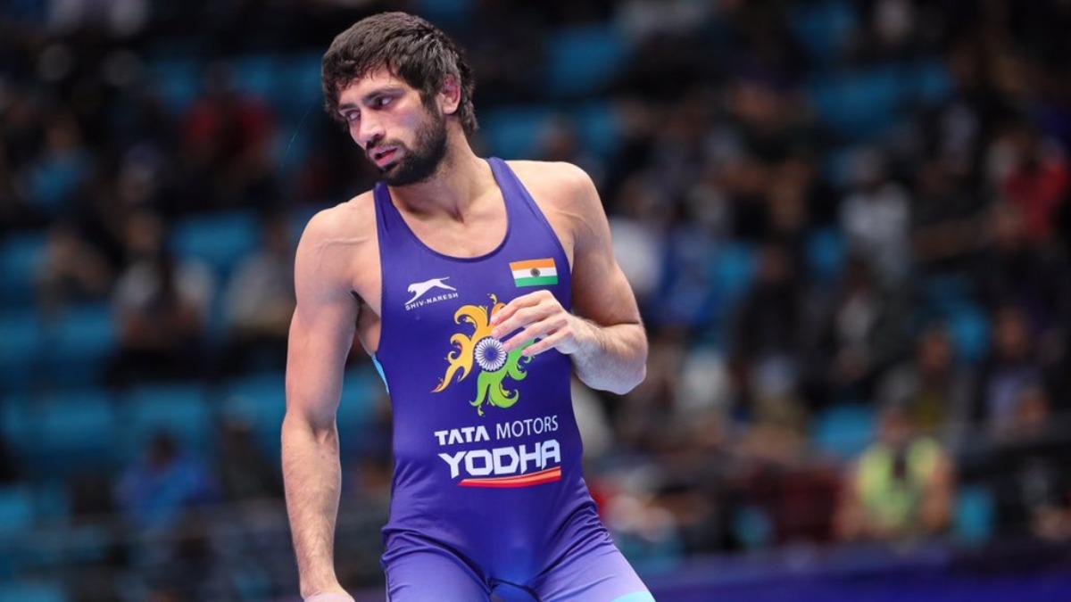 World Wrestling Ch'ships: Ravi Dahiya wins bronze in debut outing
