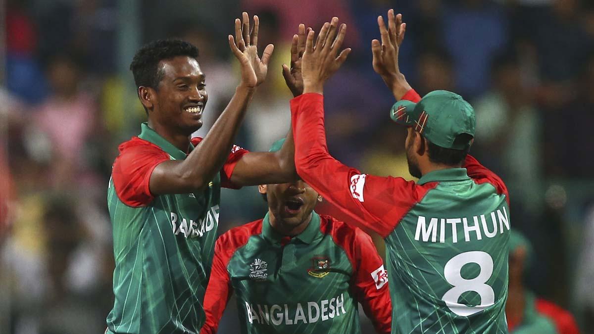 Bangladesh announce T20I squad for India series