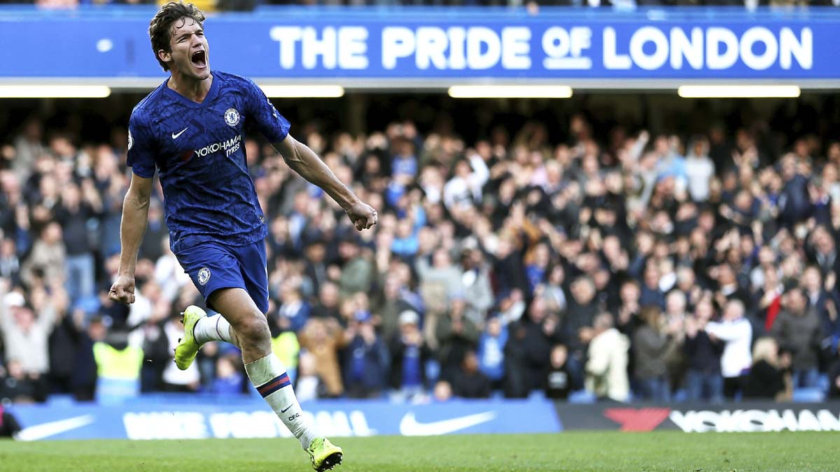 Marcos Alonso gives Chelsea 1-0 win over Newcastle in EPL