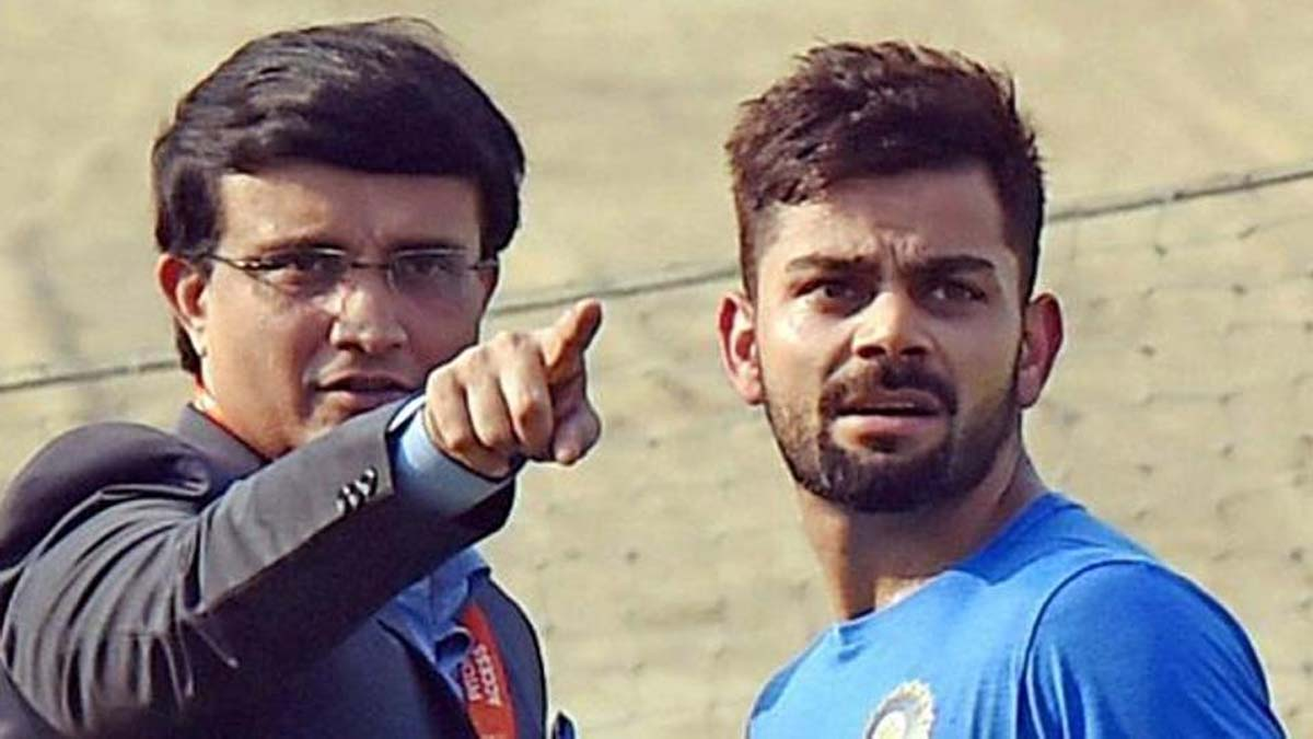 Would like Virat Kohli to focus on winning big tournaments: Ganguly
