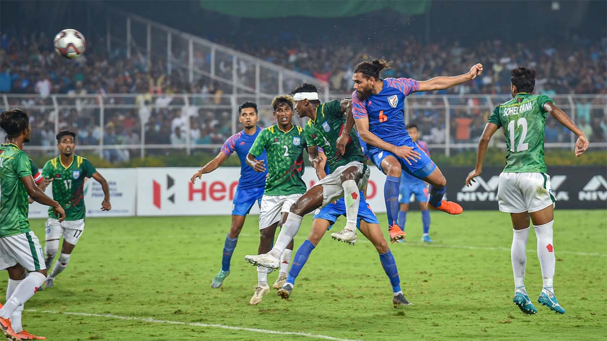 India fight hard to pull off 1-1 draw against spirited Bangladesh