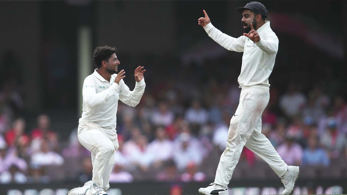 Focus on Kuldeep as India sans Kohli, Rohit sweat it out at nets