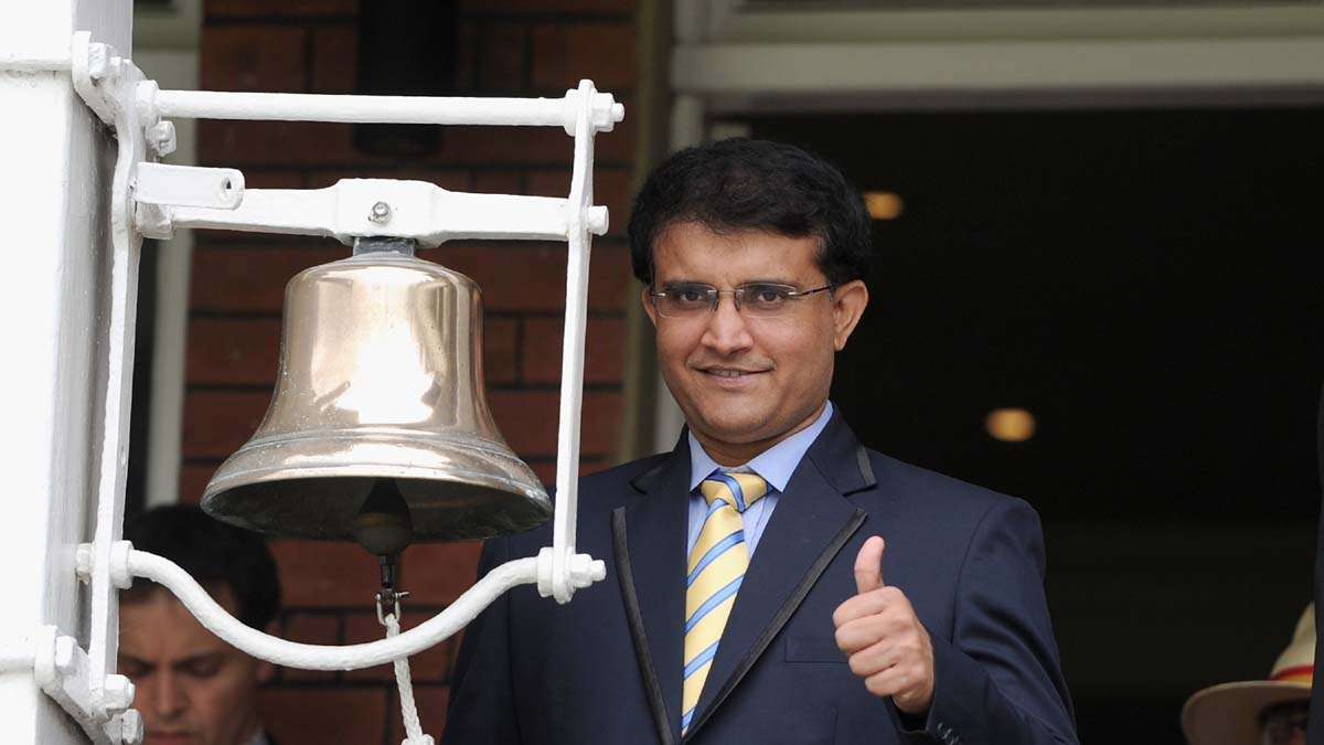 Ganguly opines on ICC's plans to host World Cup every three years