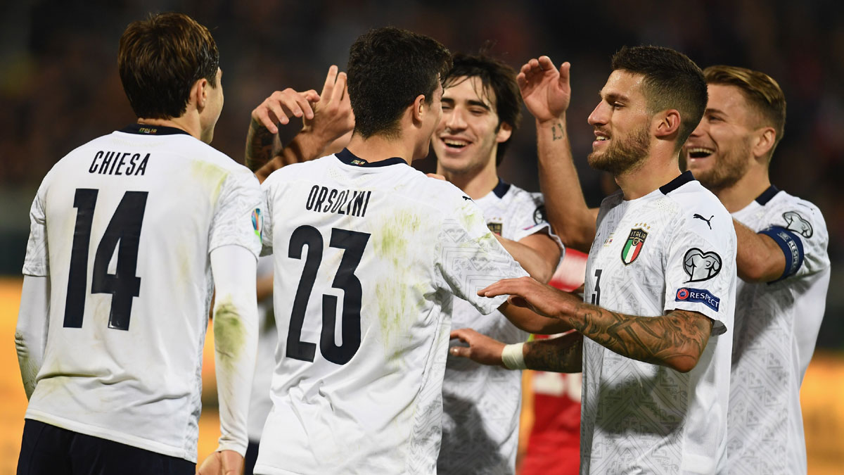 Italy beat Armenia 9-1 for biggest win since 1948