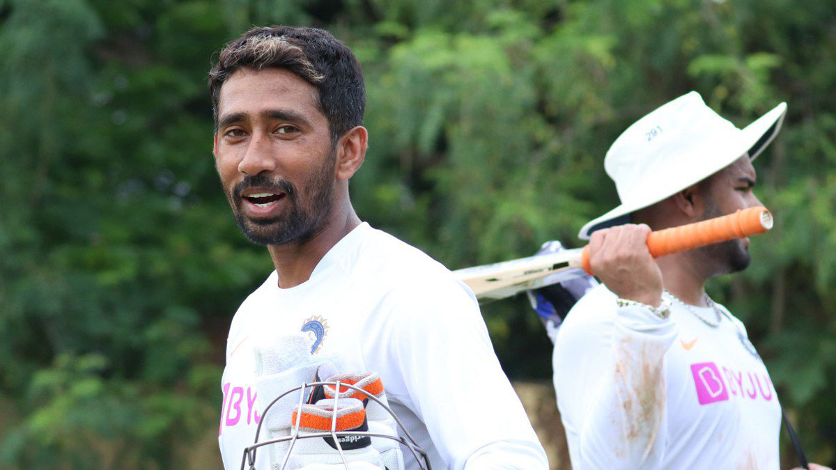 Exclusive | Wriddhiman Saha cautious of dew factor, keeping under lights ahead of Day-Night Test