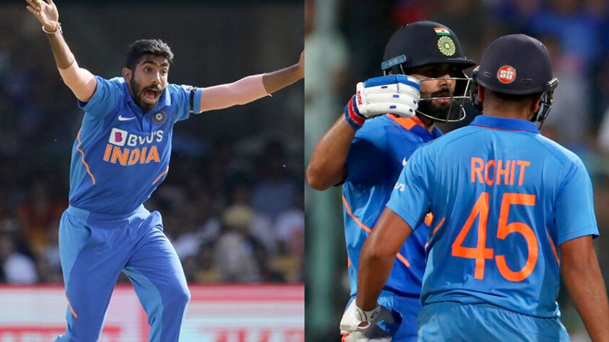 ICC ODI Rankings: Kohli, Rohit retain top-2 positions; Bumrah leads bowlers' pack