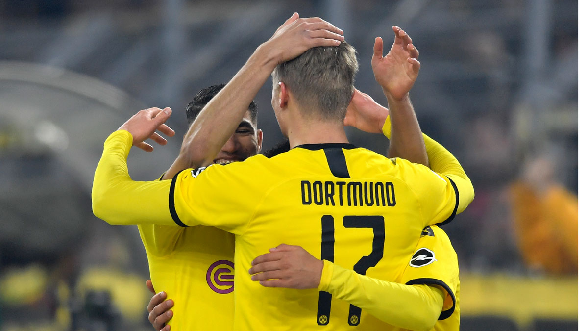 Champions League, round of 16: Free-scoring Borussia Dortmund aims to keep things tight against PSG