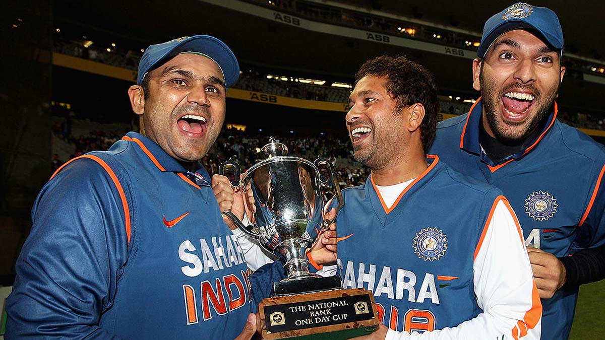 Sachin to lead India Legends in Road Safety World Series; Sehwag, Yuvraj in team