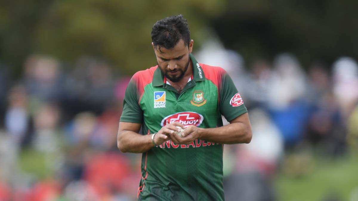 Mashrafe Mortaza tests COVID-19 positive yet again, to be retested on July 8