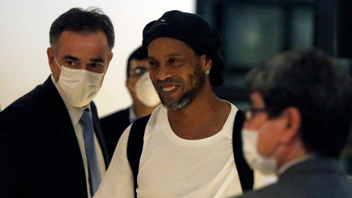 Brazil football legend Ronaldinho tests positive for COVID-19