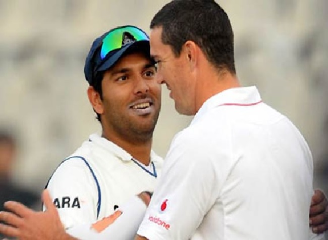 Well sometimes you slip on those pies too: Yuvraj Singh trolls Kevin Pietersen over 'pie' chucker po