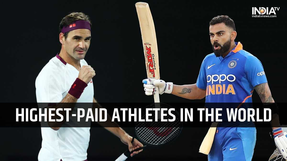 Roger Federer tops Forbes' highest-paid athletes list; Virat Kohli only cricketer in top-100