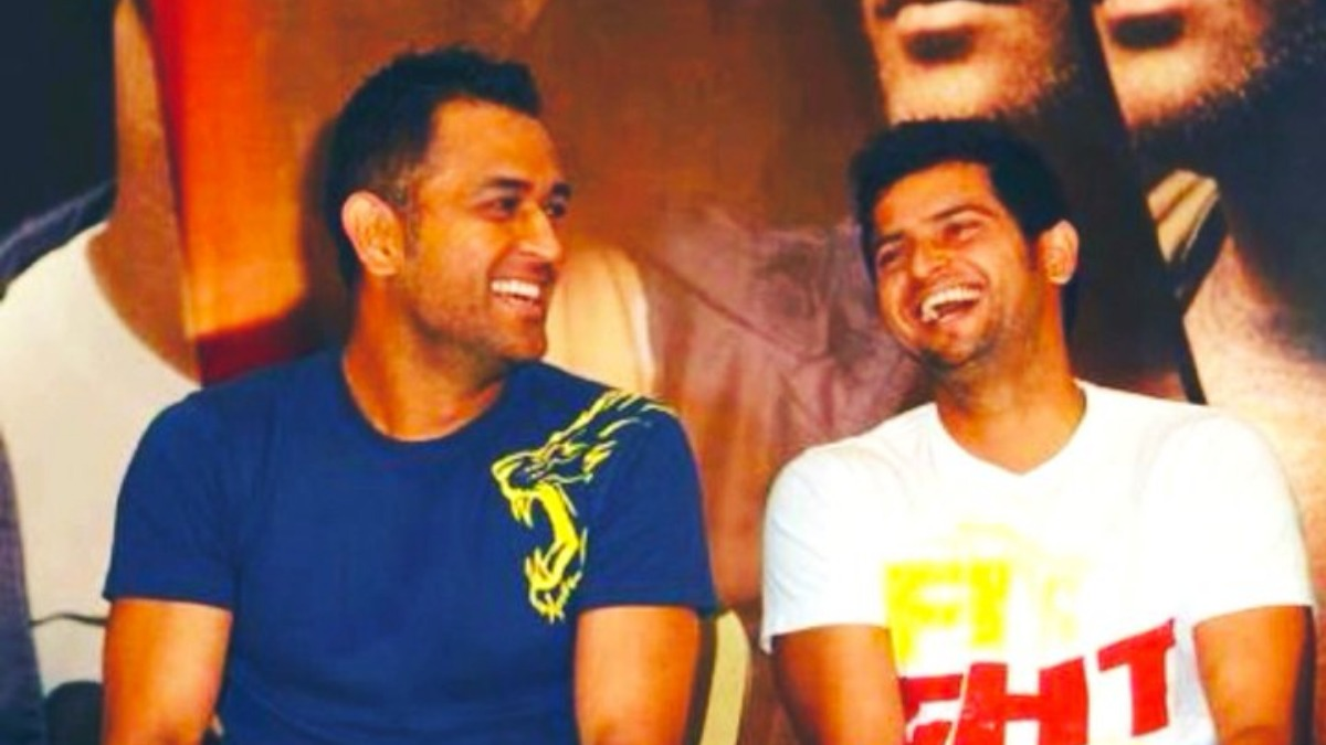 'To moments that matter': Suresh Raina posts throwback picture with MS Dhoni