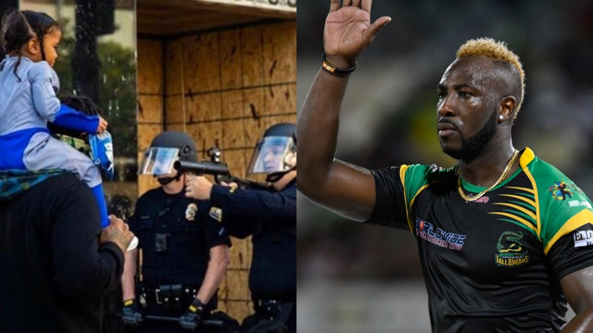 'Disturbing': Andre Russell voices anger over cop pointing rubber-bullet gun at child