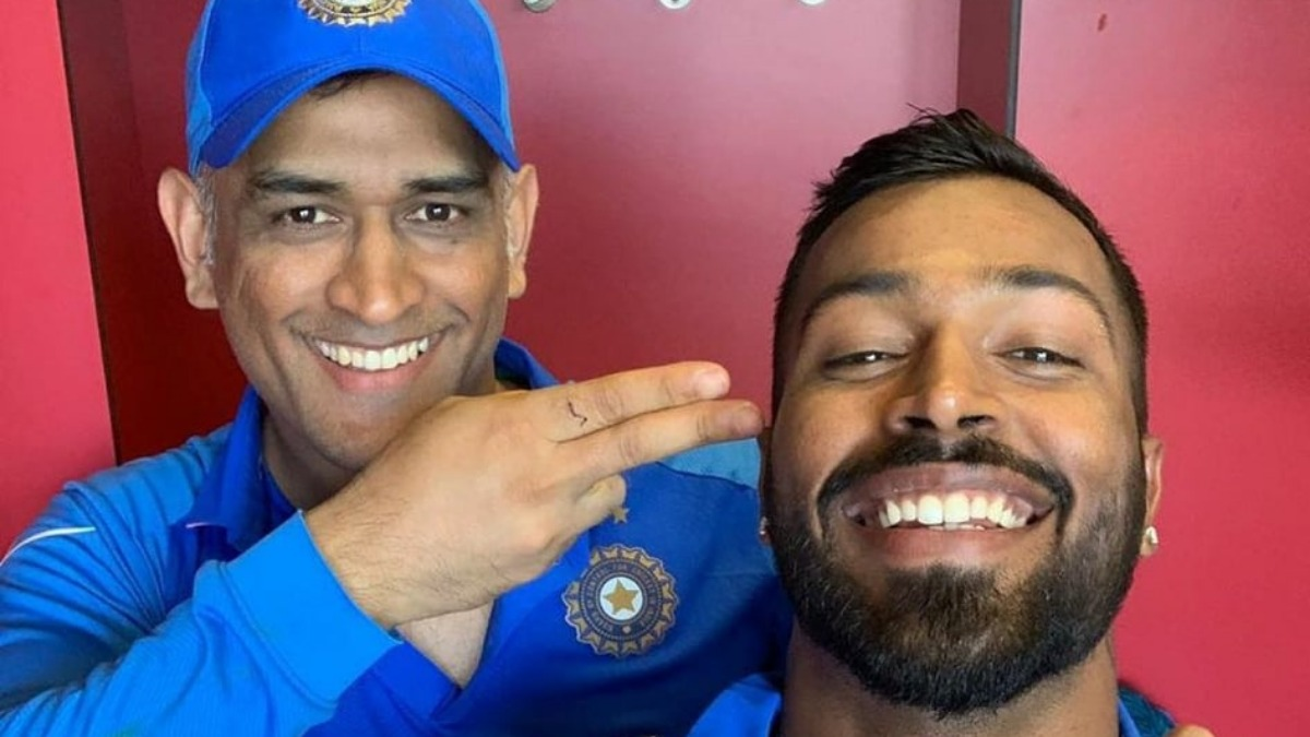 'He is family': Hardik Pandya opens up on relationship with MS Dhoni