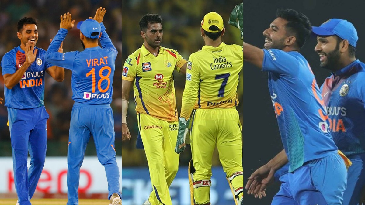 Deepak Chahar points out differences in playing under MS Dhoni, Virat Kohli and Rohit Sharma