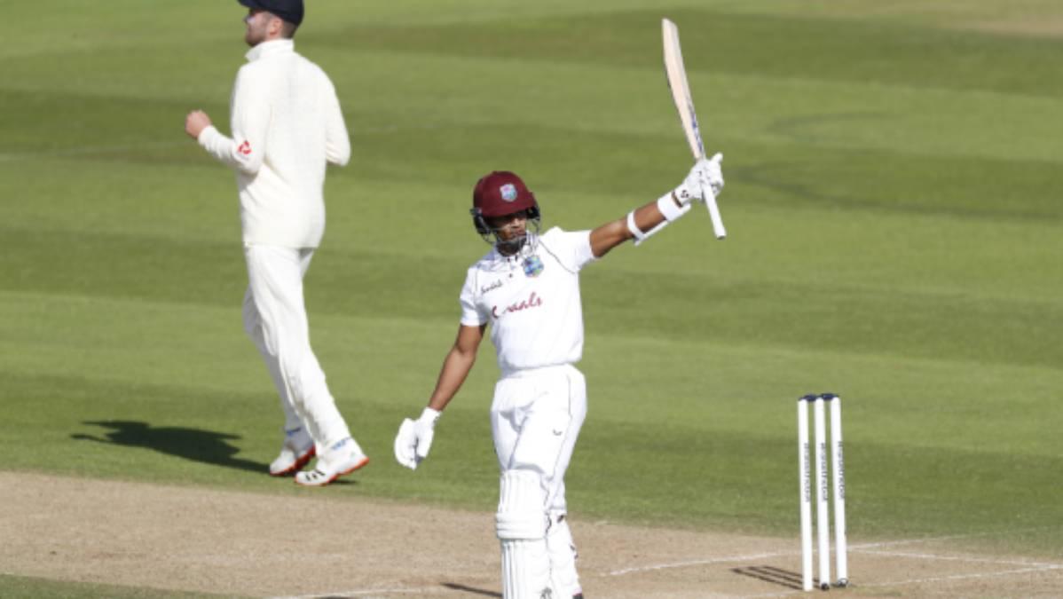 1st Test: Kraigg Brathwaite, Shane Dowrich half-centuries put Windies in command against England