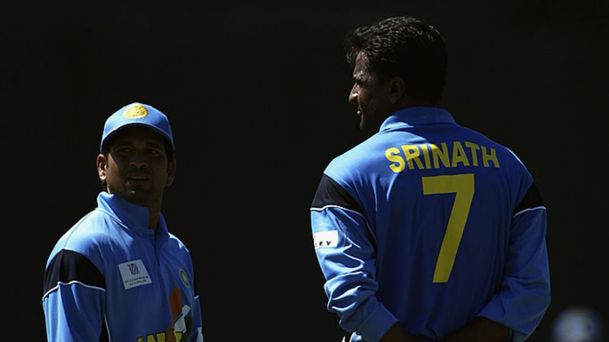 'Srinath was a little nervous, so Sachin asked me..': Badani shares hilarious story from 2002 ODI