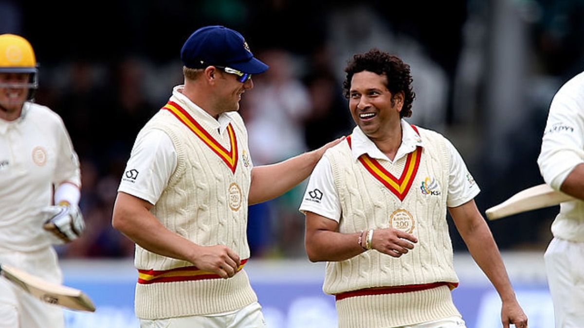 'All I was thinking was don't run him out!': Finch shares experience of batting with Tendulkar