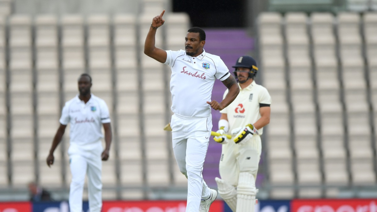 ENG vs WI: Shannon Gabriel outfoxes Dominic Sibley with a beauty as international cricket resumes