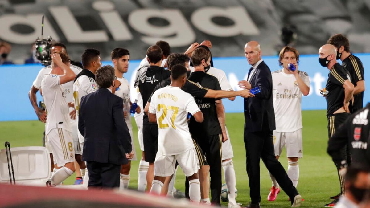 La Liga: Real Madrid continue winning run in title march, beat Alaves 2-0