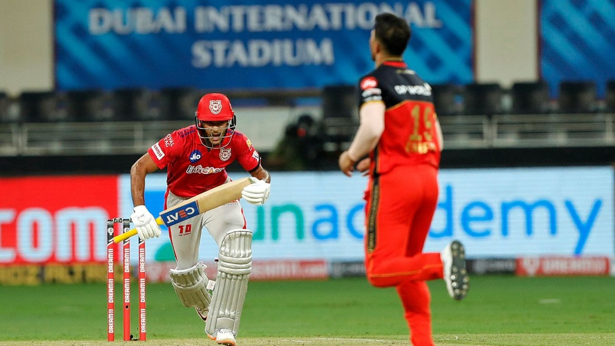 Live score and updates KXIP vs RCB, IPL 2020: Chahal removes Mayank to break opening stand