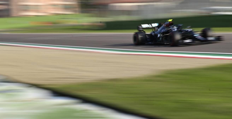 Valtteri Bottas edges teammate Lewis Hamilton for pole in F1's Imola return